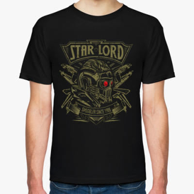 Футболка Звёздный Лорд (Star Lord)