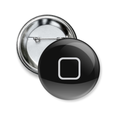 Значок 50мм Home Button