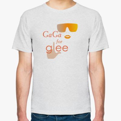 Футболка Gaga for Glee