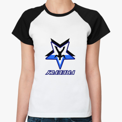 Женская футболка реглан FREEFLY