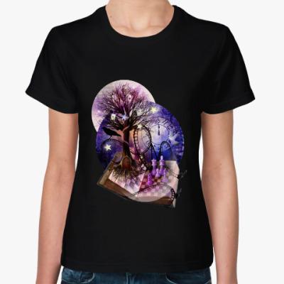 Женская футболка Dream on