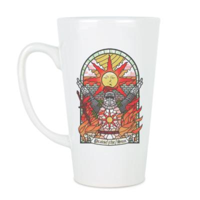 Чашка Латте Dark Souls Praise the sun