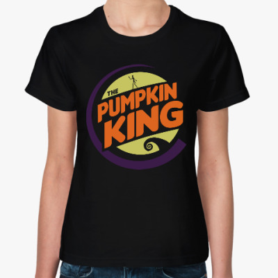 Женская футболка Король тыкв