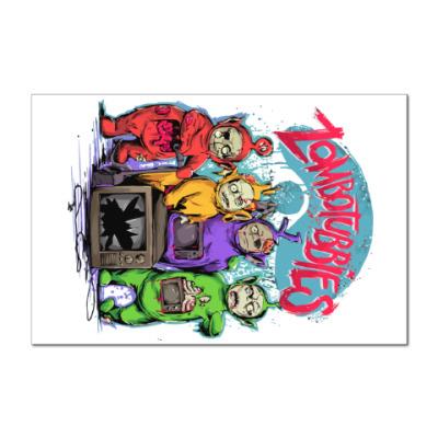 Наклейка (стикер) Зомбопузики