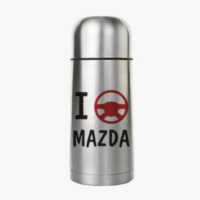 Термос I love Mazda