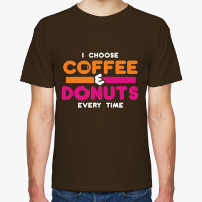 Футболка Кофе и пончики
