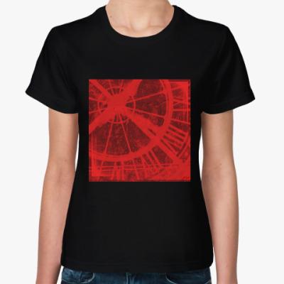 Женская футболка The Time