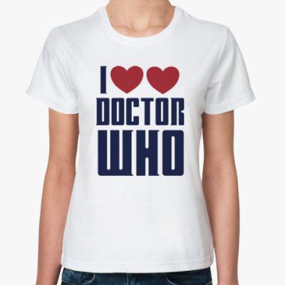 Классическая футболка Doctor Who?Доктор Кто