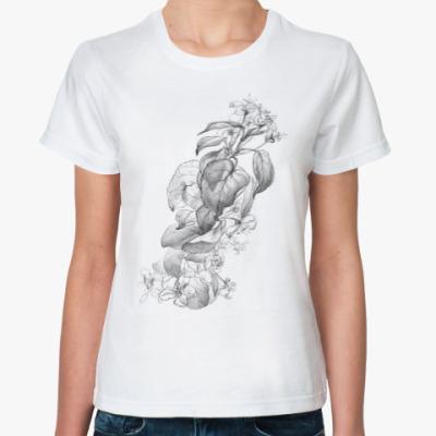 Классическая футболка Цветущая яблоня
