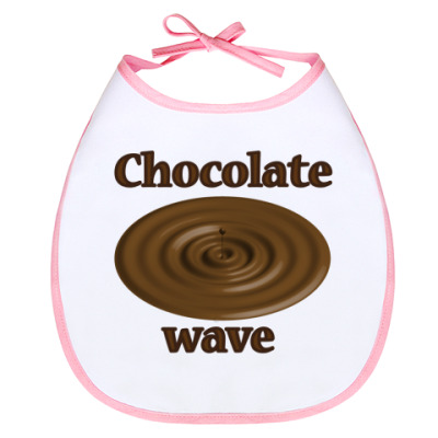 Слюнявчик Chocolate wave