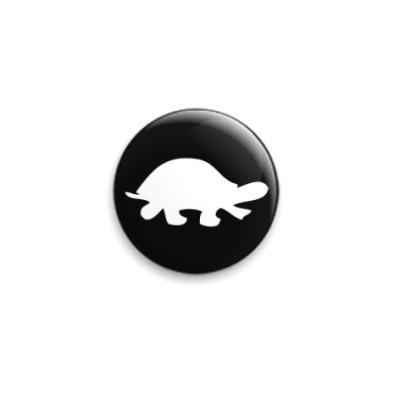 Значок 25мм Черепаха