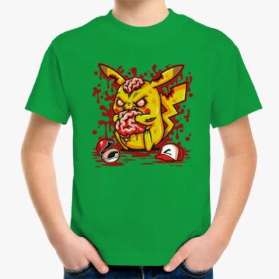 Детская футболка Пикачу Монстр