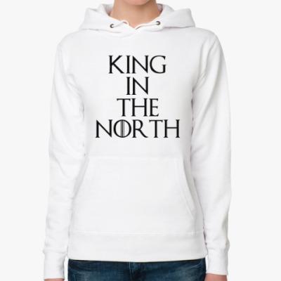 Женская толстовка худи KING IN THE NORTH