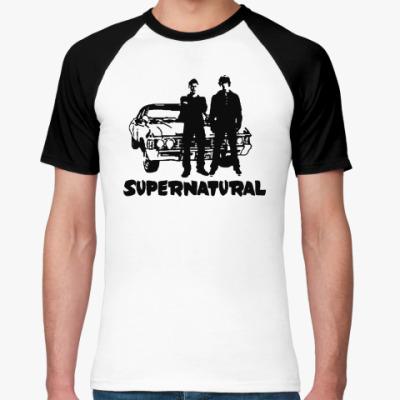 Футболка реглан Supernatural Impala