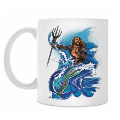 Кружка Jason Momoa as Aquaman