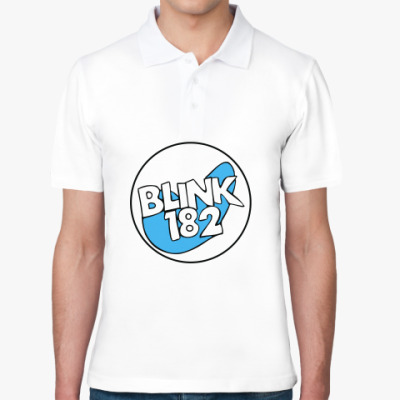 Рубашка поло  Blink 182