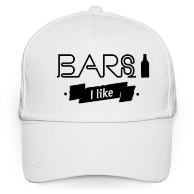"""Кепка бейсболка """"Bars I like"""""""