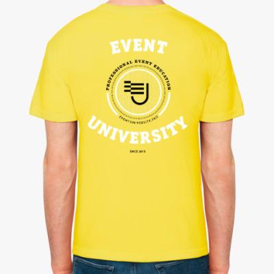 Мужская футболка Event University, желтая