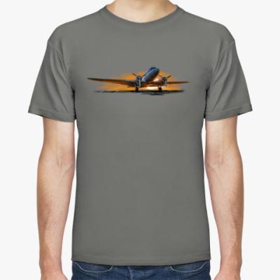 Футболка Транспортник DC-3 (Ли-2)