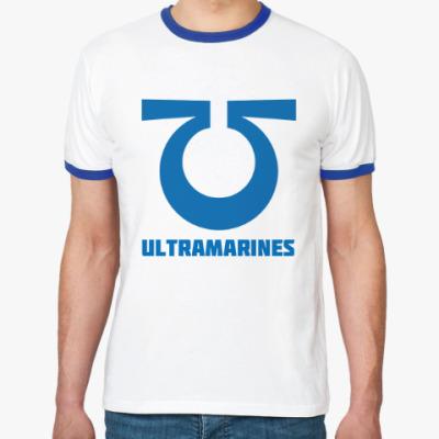 Футболка Ringer-T Ultramarines