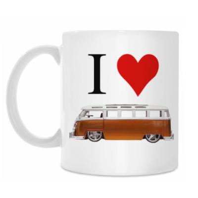 Кружка I Love Bus