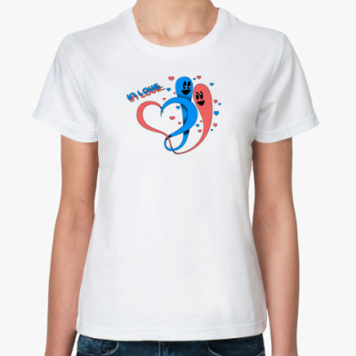 Классическая футболка In Love