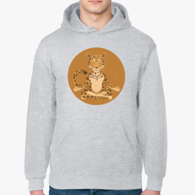 Толстовка худи Animal Zen: J is for Jaguar