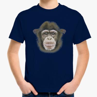 Детская футболка Обезьяна (monkey)