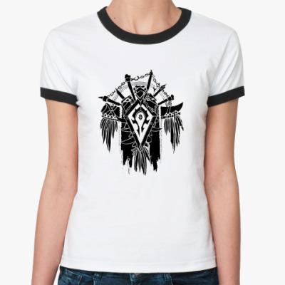 Женская футболка Ringer-T Орда