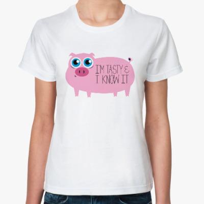 Классическая футболка Я вкусный