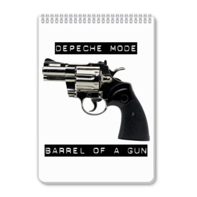 Блокнот Depeche Mode