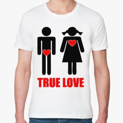 Футболка из органик-хлопка True Love
