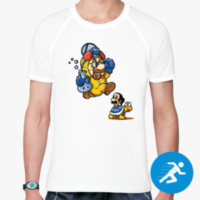 Спортивная футболка Mario Heisenberg