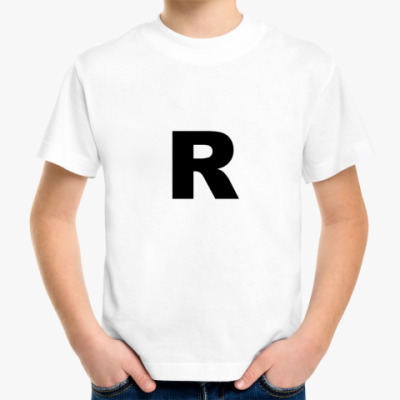 Детская футболка R