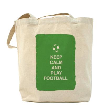Сумка Keep calm and play football