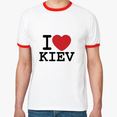 Футболка Ringer-T I Love Kiev