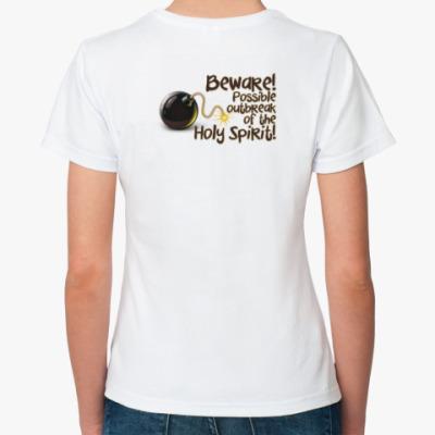 Классическая футболка Бомбезно