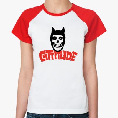 Женская футболка реглан  Жен. Отношение Г