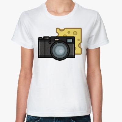 Классическая футболка Скажи сыр