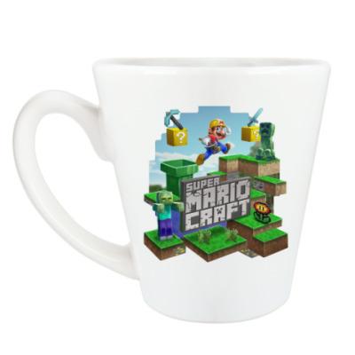 Чашка Латте Super Mario Craft