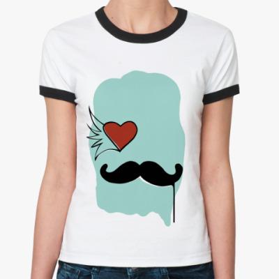 Женская футболка Ringer-T Sexy