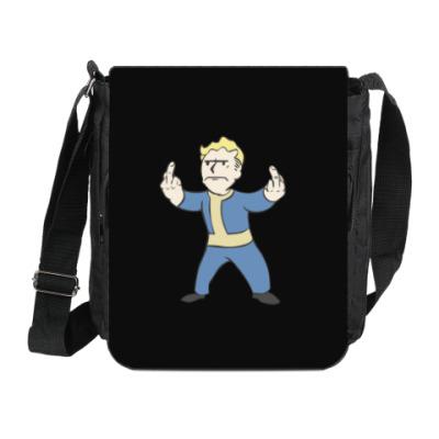 Сумка на плечо (мини-планшет) Fallout