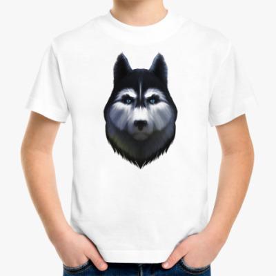 Детская футболка Сибирский хаски