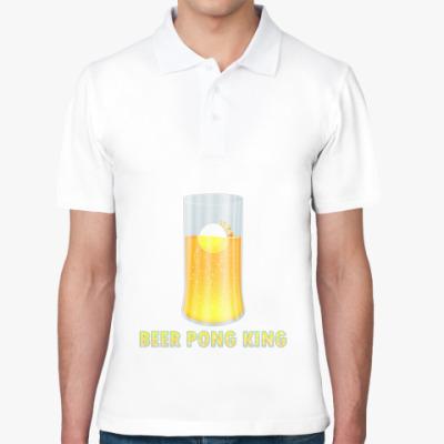 Рубашка поло Король Бир Понга