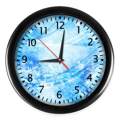 Настенные часы Снежный ветер