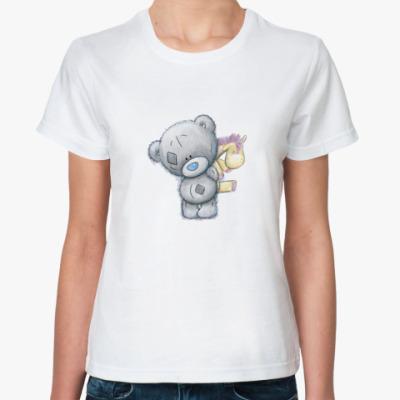 Классическая футболка мишка Teddy