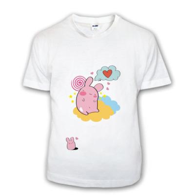 Детская футболка  (дет) kawaii rabbit