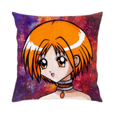 Подушка Space Anime Girl