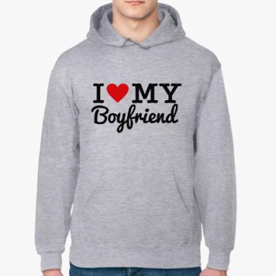 Толстовка худи I love my boyfriend