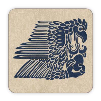 Костер (подставка под кружку) Орел
